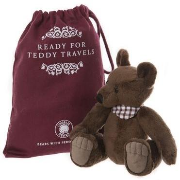 Morpeth Teddy Bears Charlie bear collectible plush 2019 Hunter Valley Gallivant with bag