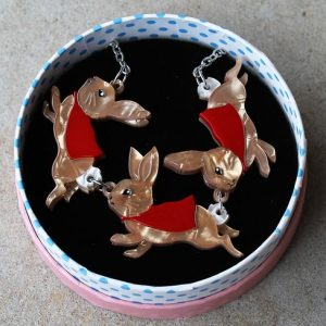Erstwilder Necklace – Flopsy, Mopsy & Cottontail