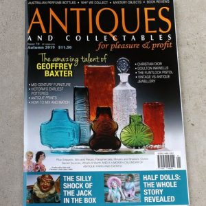 Antiques & Collectables for Pleasure & Profit Magazine – Autumn 2019