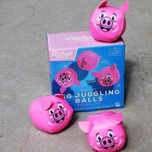 Pig Juggling Balls