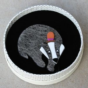 Erstwilder Brooch – Benny Badger