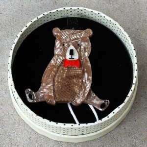 Erstwilder Brooch – Bear With Me