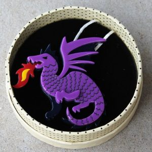Erstwilder Brooch – Reign of Fire (Dragon)