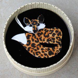 Erstwilder Brooch – Faustine Fox