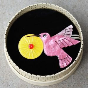 Erstwilder Brooch – The Humble Hummingbird