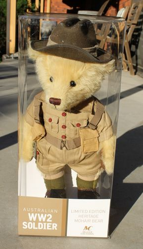 morpeth antique centre gift gallery hunter valley war memorabilia WWI WWII world one two soldier teddy bear australian