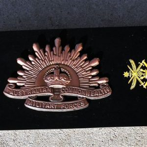 Rising Sun Hat Badge – 3rd Edition 1904