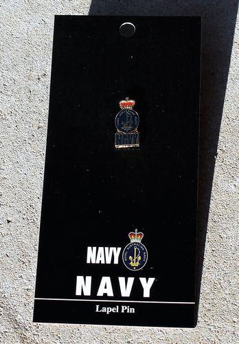 morpeth antique centre gift gallery hunter valley war memorabilia WWI WWII world one two flander's field Australian RAN navy lapel pin badge