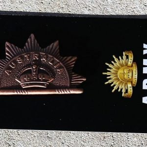 Rising Sun Hat Badge – 1st Edition 1902