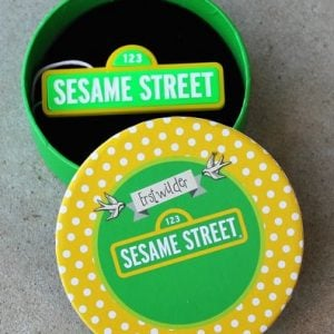 Erstwilder Brooch – Sesame Street Sign – Gift With Purchase