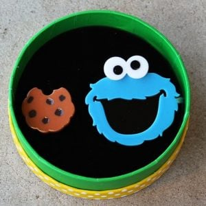 Erstwilder Brooch Duo – Cookie Monster