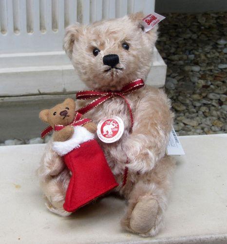 Morpeth Teddy Bears Steiff Desmond Christmas Bear