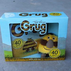 Grug Plush Toy & Book Set
