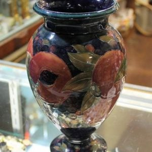 Moorcroft Vase – Pomegranate