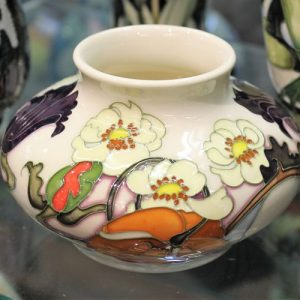 Moorcroft Vase – Sandringham Bouquet