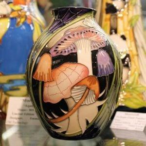 Moorcroft Vase – Twilight Bonnets