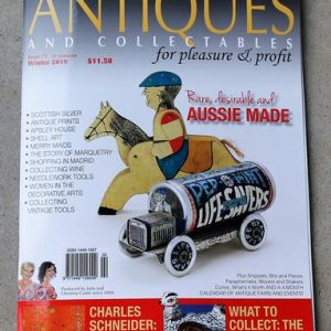 Magazine – Antiques and Collectables for Pleasure & Profit Winter 2019