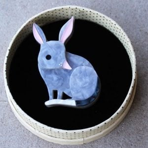 Erstwilder Brooch – Bouncy Burrow Dweller (Bilby)