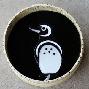 Erstwilder Brooch – Northside Wanderer (Penguin)