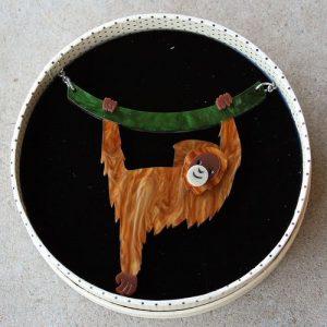 Erstwilder Necklace – Hold On Louie (Orangutan)