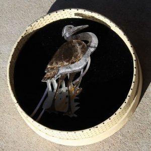 Erstwilder Brooch – Avian Adore (Heron)