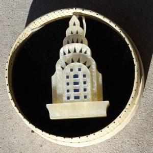 Erstwilder Brooch – Manhattan Monument
