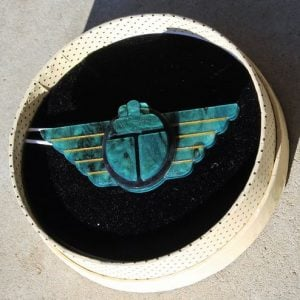 Erstwilder Brooch – Ancient Egypt Revival (Scarab)