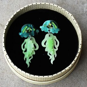 Erstwilder Earrings – Slippin' Under (Jellyfish)