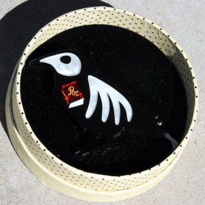 Erstwilder Brooch – RIP Raven