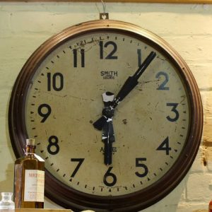 Railway Waiting Room Clock