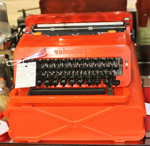 morpeth antique centre hunter valley shop 35 ambleside antiques olivetti typewriter original case ettore sottsass designed late 1950's