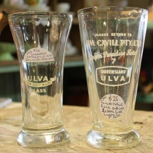 Ulva Beer Glass Duo
