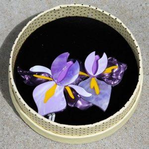 Erstwilder Brooch – My Compliments (Iris)