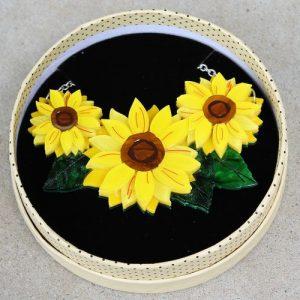 Erstwilder Necklace – Follow the Sun (Sunflower)