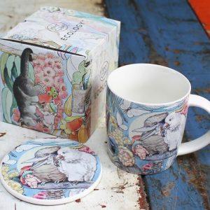 Bone China Mug & Coaster – May Gibbs Bush Tales
