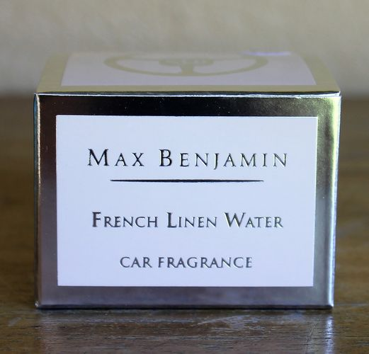 Max Benjamin French Linen Water Luxury Car Fragrance