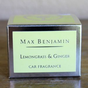 Car Fragrance – Lemonrass & Ginger