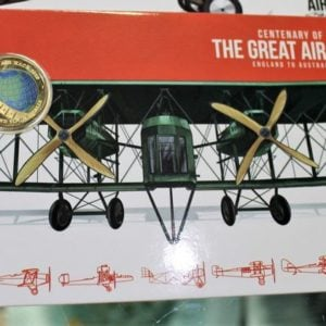 The Great Air Race Eight Coin Set
