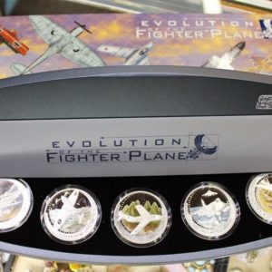 Evolution of the Fighter Plane Coin Set