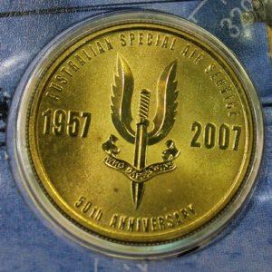 SAS 50th Anniversary $1 Coin