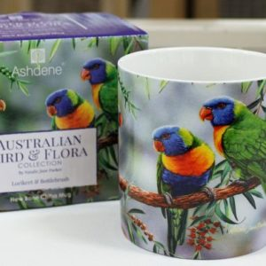 Mug – Rainbow Lorikeet & Bottlebrush