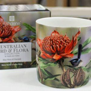 Mug – Blue Wren & Waratah