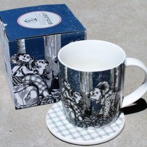 Blinky Bill Mug & Coaster – Navy