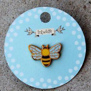 Erstwilder Enamel Pin – Harmonius Honey Bee