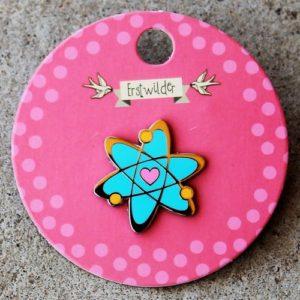 Erstwilder Enamel Pin – Adventurous Atom