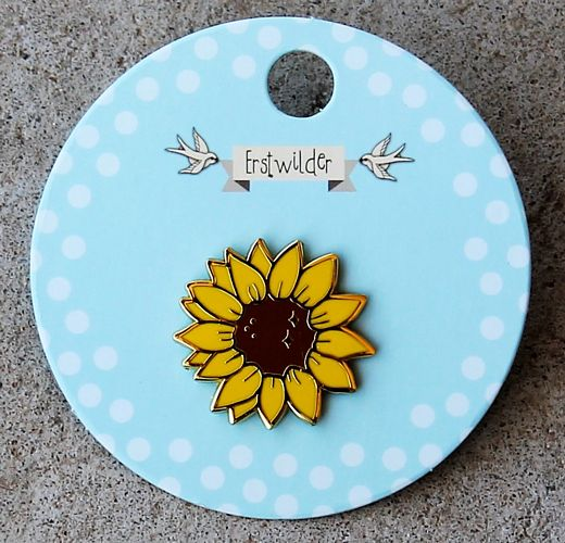 morpeth antique centre hunter valley erstwilder enamel pin salubrious sunflower brooch retro collectable pin up