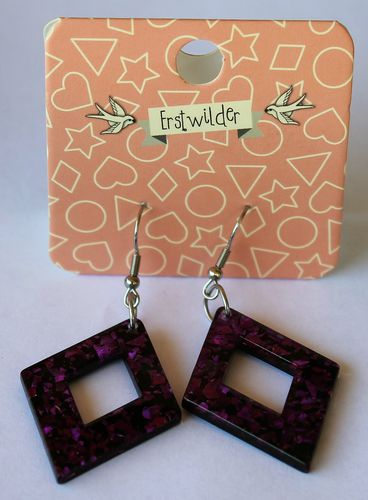 morpeth antique centre hunter valley erstwilder earrings brooch necklace diamond purple glitter retro collectable pin up