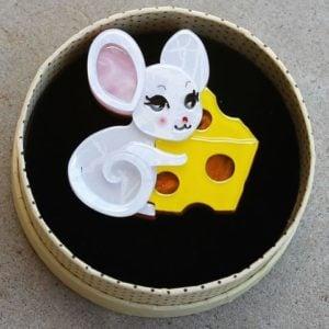 Erstwilder Brooch – Not Even A Mouse