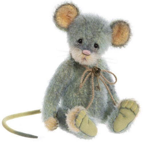 Morpeth Teddy Bears Isabelle Charlie Bear mohair 2020 Chives mouse