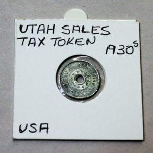 Utah Emergency Relief Fund Sales Tax Token – 1